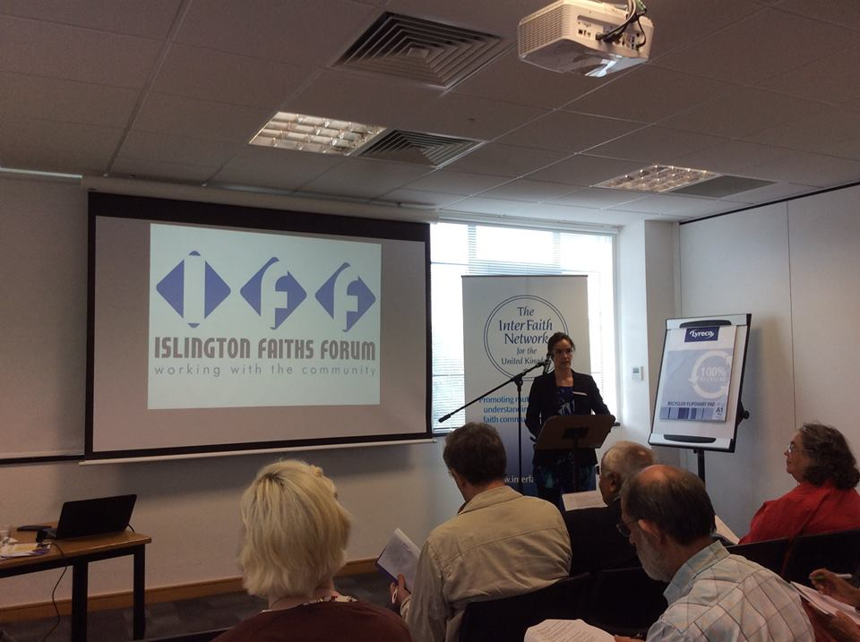 IFF presenting at the Inter Faith Network UK National Practitioners Day 2016