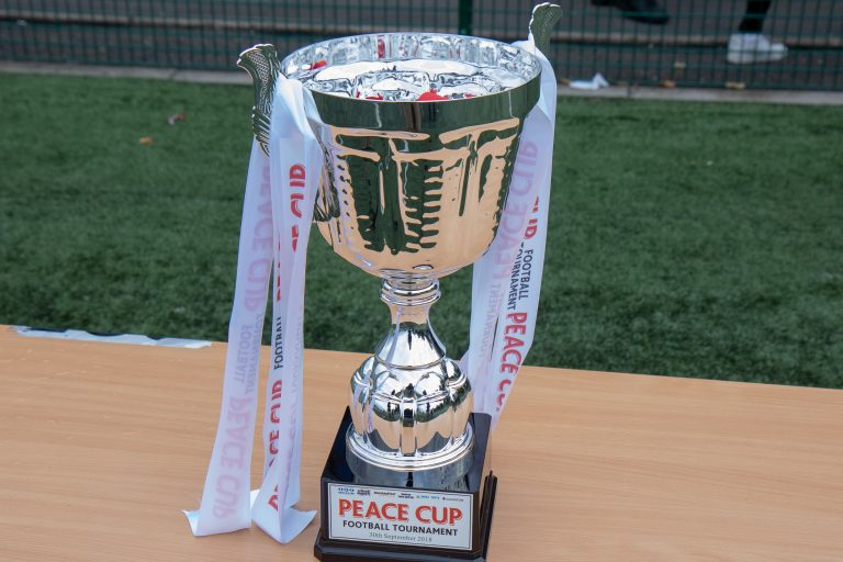 Peace Cup 2018 Trophy